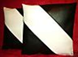 Leatherette cushion covers