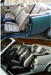 BMW E30 /M3 (OPTION1) KIT IN REAL LEATHER