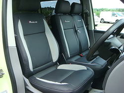 vw transporter front seats