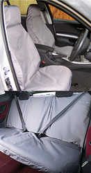 Waterproof universall covers front and back seats
